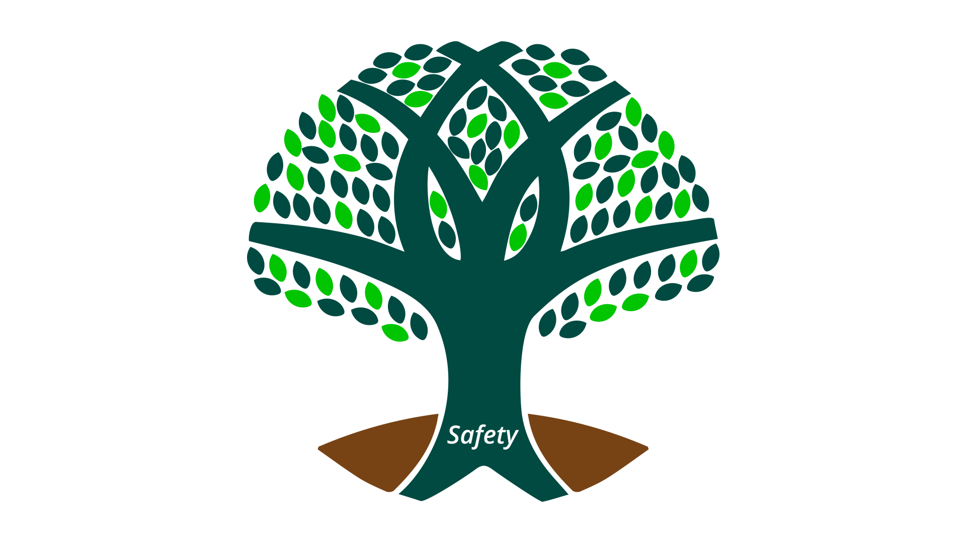 An animated tree symbolizing the roots in safety shared by everyone a part of industrial construction company R.H. White Construction